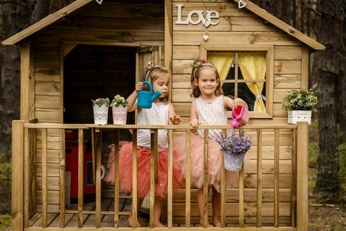 Las casitas son una de las mejores opciones en cuanto a juegos para niños de 5 a 7 años.