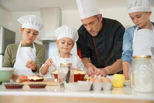 Talleres de cocina para niños