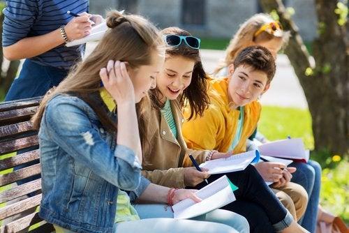 El trabajo en equipo es uno de los principales hábitos que impulsan las escuelas altamente creativas.