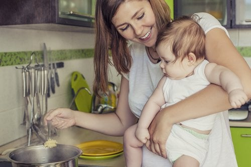 Dieta para mamas que dan pecho