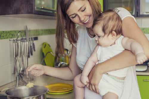 Dieta durante la lactancia: ¿qué comer?