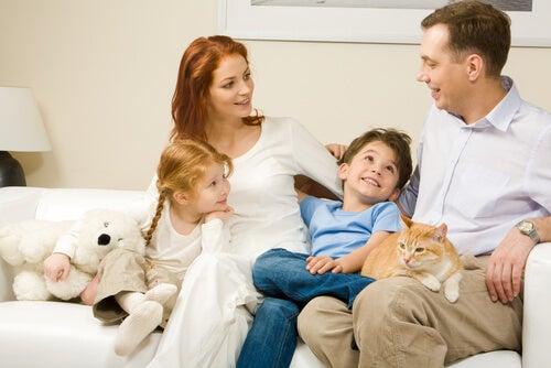 El lenguaje del núcleo familiar