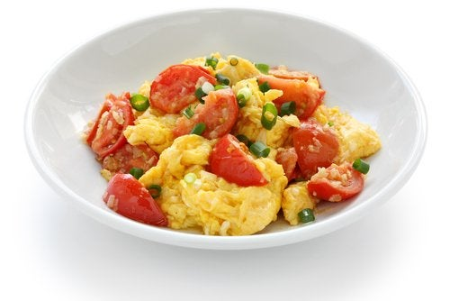 Las recetas con huevos son ricas en proteínas.