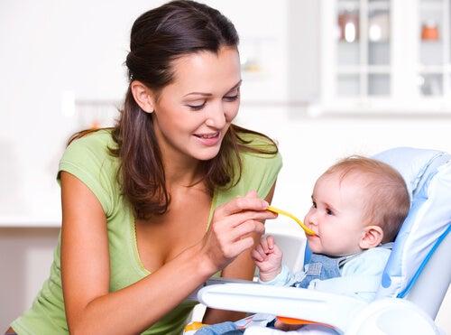 La nutrición en el primer año de vida del bebé