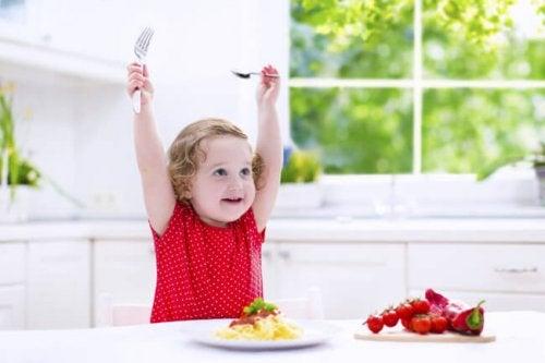 Recetas saludables para bebés de 12 a 24 meses