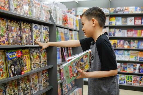 Las ventajas de leer cómics para los niños