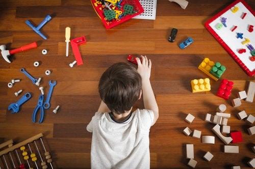 La zona de juegos de los niños es su espacio personal preferido.