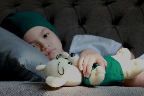 Los niños en cuidados paliativos.