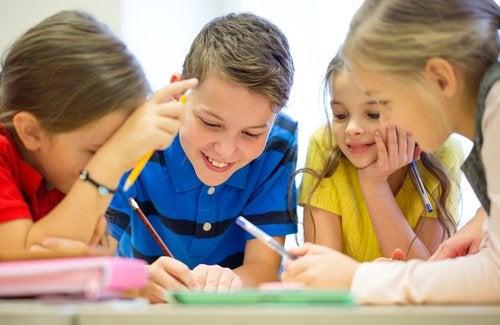 Beneficios de las sopas de letras para niños
