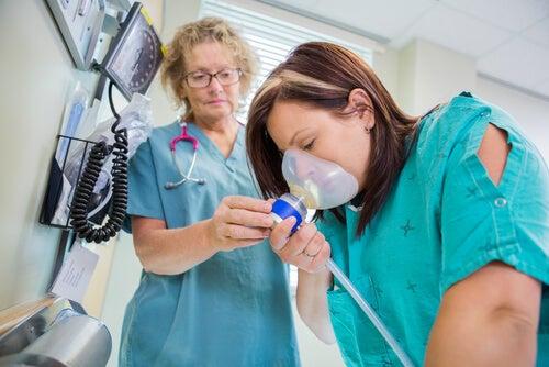 El óxido nitroso, un calmante para el parto
