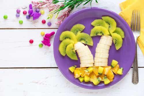 6 formas de hacer atractivas las frutas para los niños