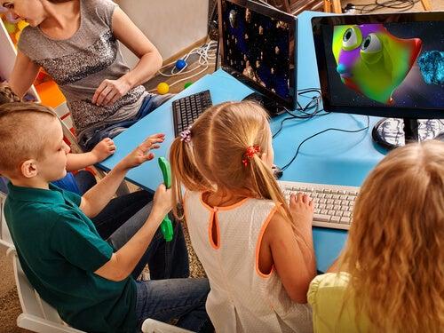La tecnología puede ser una gran herramienta para motivar a los niños en clase.