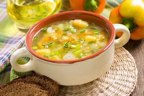 Dieta recomendada para la gastroenteritis en niños
