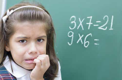 La ansiedad matemática en los niños