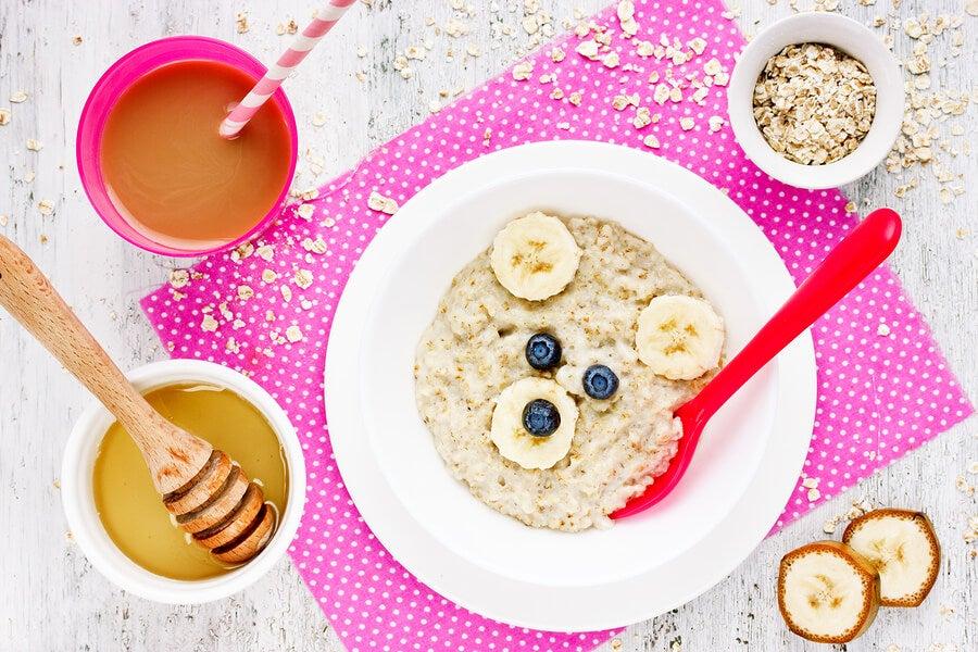 Recetas saludables para bebés de 6 a 9 meses.