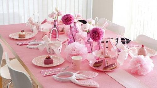 Ideas de comida para un baby shower
