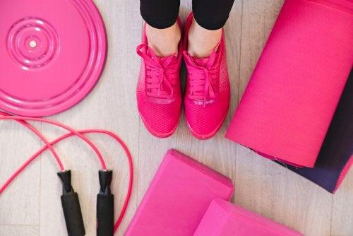 Los ejercicios físicos son fundamentales para recuperar la figura después de dar a luz.