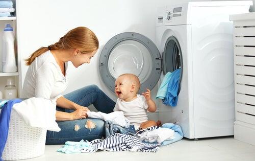 7 consejos para lavar la ropa del bebé