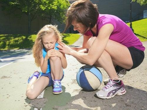 Muchos niños se lesionan a menudo.