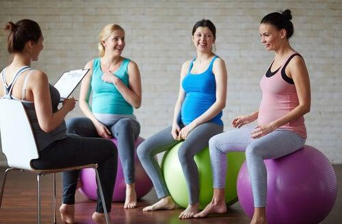 El beneficio del yoga para embarazadas.