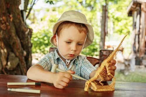 ¡A mi hijo le fascinan los dinosaurios!