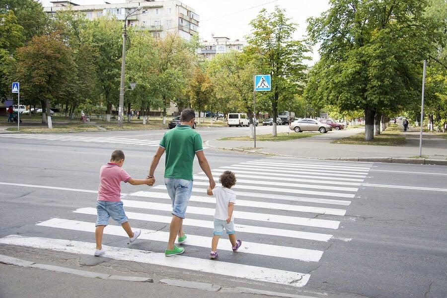 La educación vial debe reforzarse en el hogar.