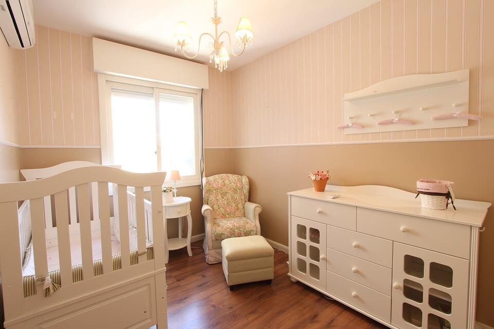 5 ideas de armarios para la habitación del bebé