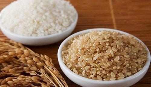 El arroz integral es parte de las recetas ricas en magnesio.