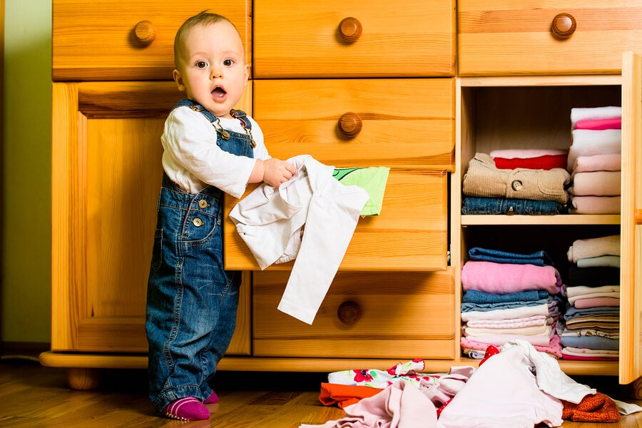 6 ideas de armarios para la habitación del bebé