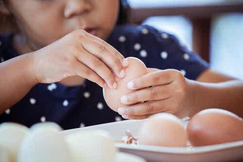 3 recetas con huevo para niños