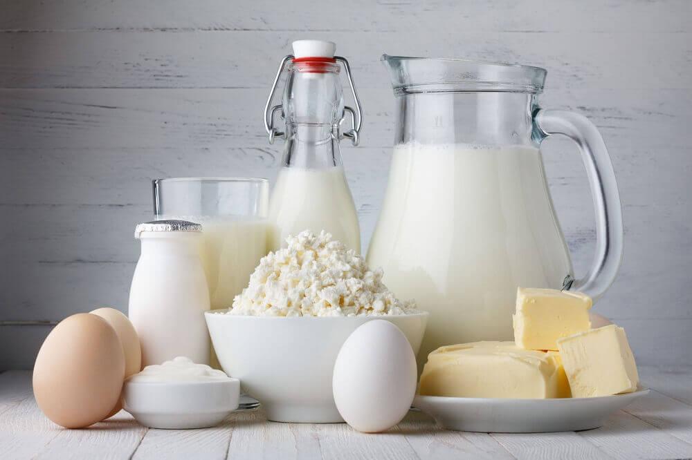 Las intolerancias alimentarias producidas por lácteos y derivados.