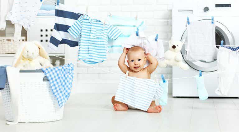 Consejos para lavar la ropa del bebé