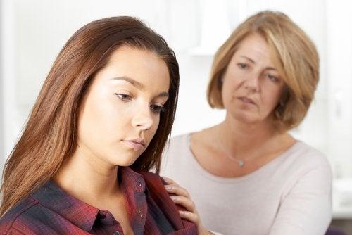 La intuición materna permite a las mamás saber cuando algo anda mal.