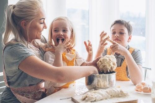 3 platos para cocinar con niños