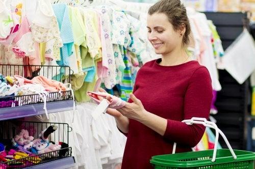 4 consejos para hacer la compra si eres una madre primeriza