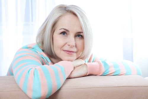 Los síntomas de la menopausia.
