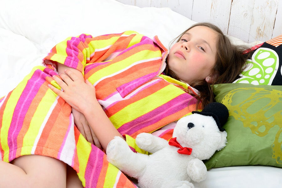 Causas del dolor de barriga en niños