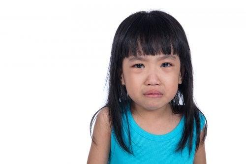 Los pucheros, manifestaciones de los chantajes emocionales de los niños