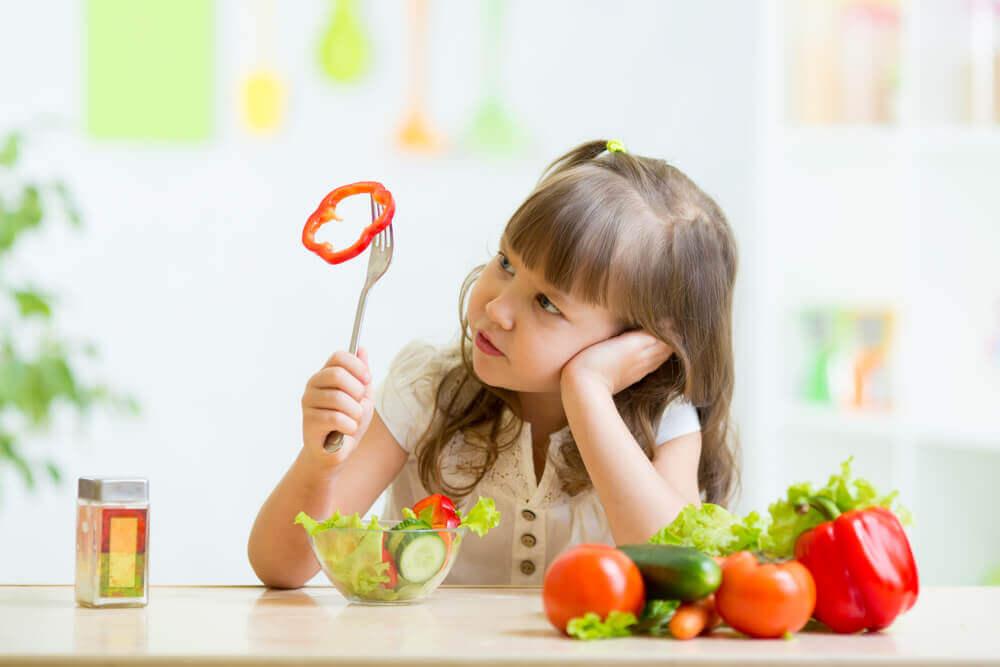 La neofobia alimentaria