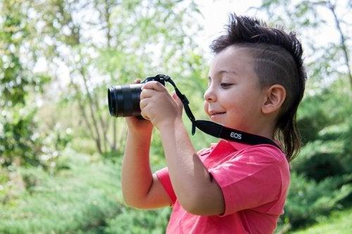La fotografía estimula la creatividad.