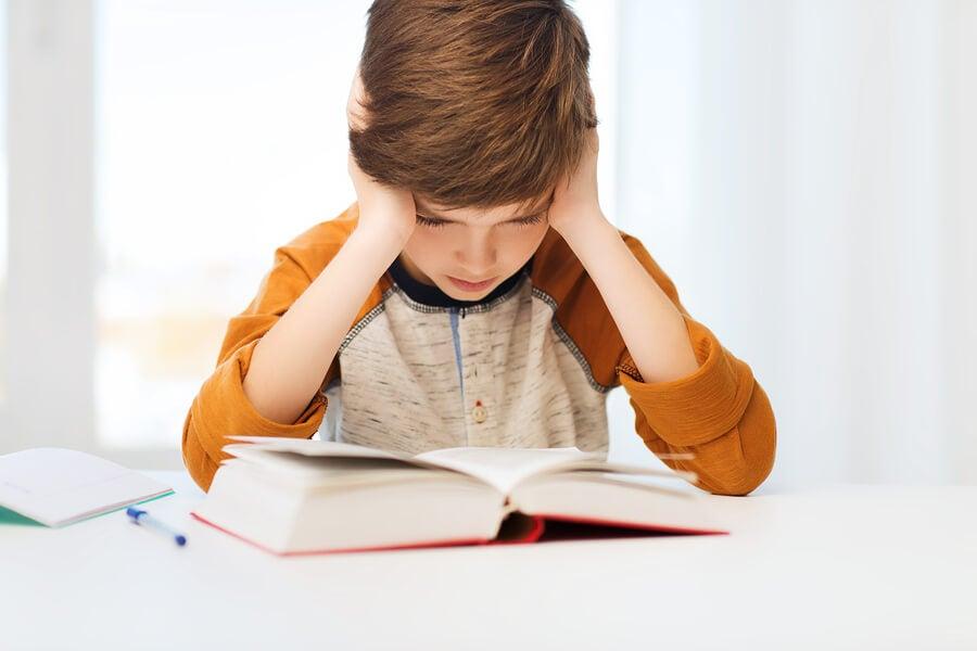 5 problemas de lectura en niños