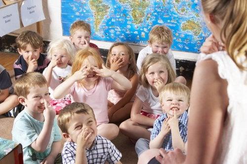 Beneficios de las guarderías para bebés y niños