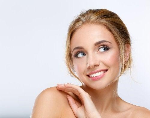 Es posible maquillarse en unos pocos minutos.