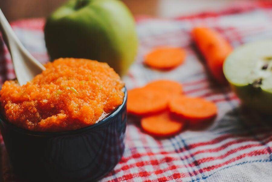 4 recetas de purés con verduras para niños