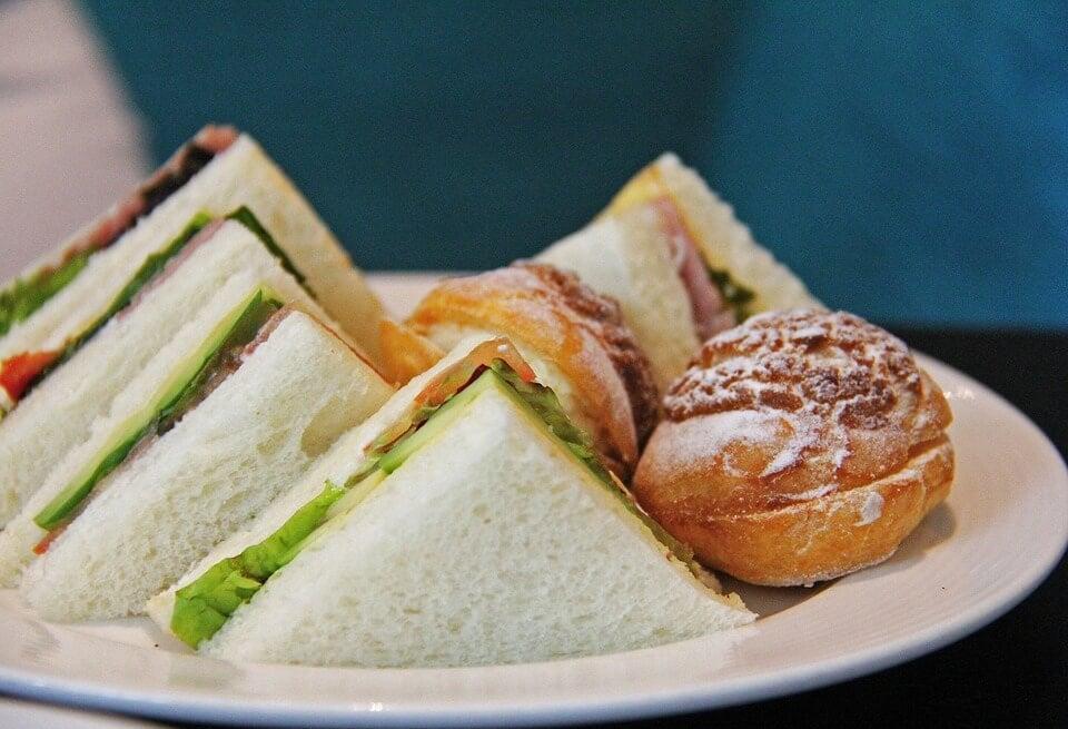 Tres recetas de sándwiches para niños.