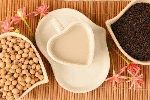 La soja es un excelente complementos para las recetas con legumbres para niños.
