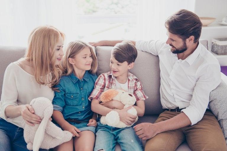 Los 5 valores de toda familia feliz
