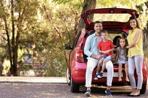 Tipos de coches para familias numerosas