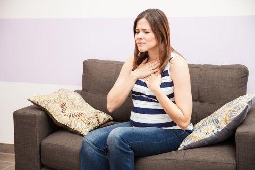 ¿Cómo aliviar la acidez durante el embarazo?