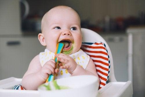 7 purés de verduras para bebés